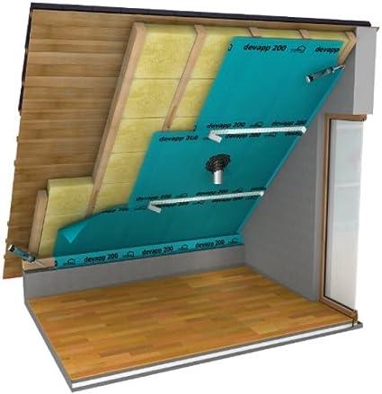Klemmfilz Knauf 40mm 18,24 qm  Dachboden Dämmung Glaswolle Mineralwolle