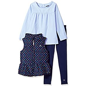 Limited Too Girls' Fashion Top, Vest and Pant Set (More Styles Available)