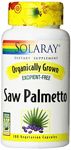 Solaray Organic Palmetto Supplement Count product image
