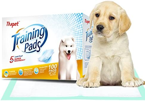 Thxpet Puppy Absorbent Leak Proof Training