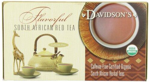 Davidson's Tea Single Serve Assorted Red Tea, 100-Count  Pack