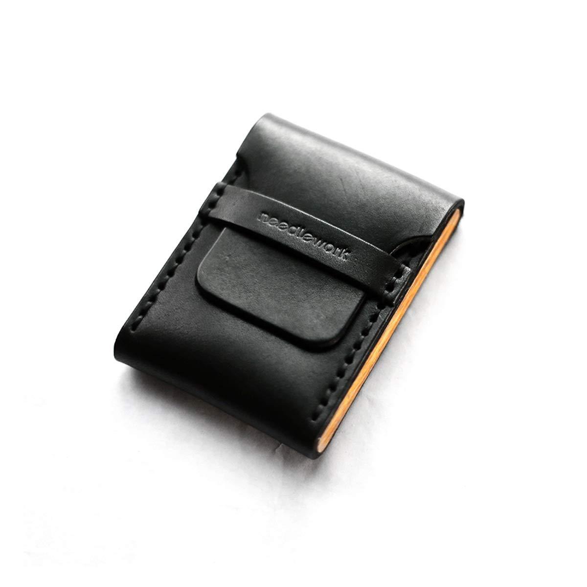 ZHONGYUE Cigarette Case, Portable Cigarette Case, Retro Leather Cigarette Case Unique Design, Sturdy and Lightweight. (Style : B)