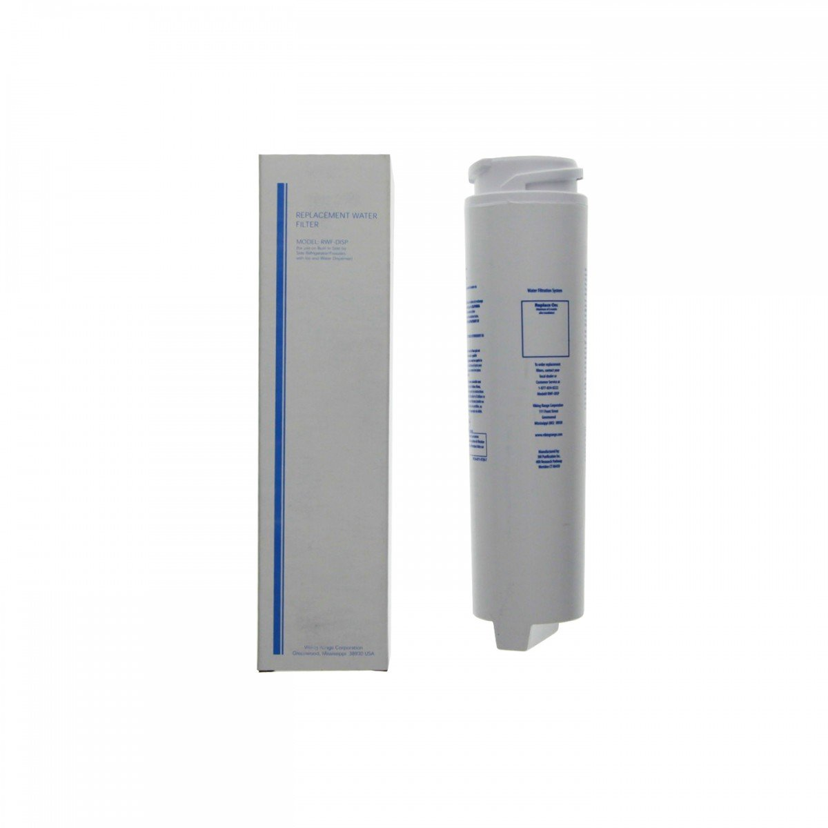 RWFDISP Viking Refrigerator Water Filter Cartridge, 2 Filter