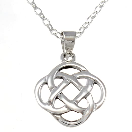 knot memorial celtic irish pendant jewelry ashes for cremation trinity