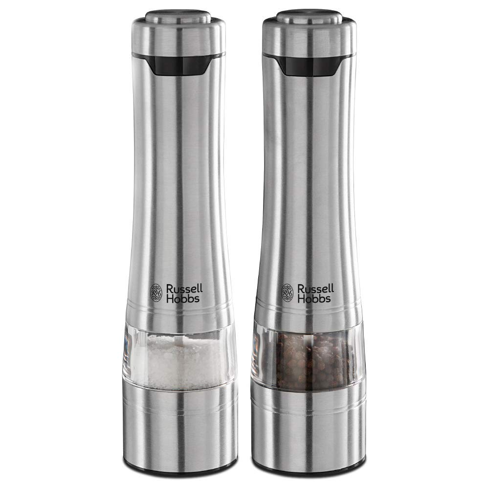 Russell Hobbs 23460-56 Battery Powered Salt and Pepper Grinders
