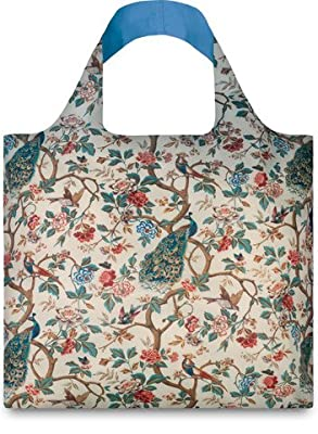 LOQI Museum2 Collection Pouch Reusable Bags, Multicolor, Set of 4
