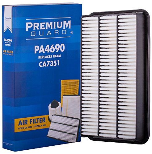 Premium Guard Air Filter PA4690 | Fits 2001-1992 Lexus ES300, 2004-1995 Toyota Avalon, 2001-1992 Toyota Camry, 2003-1998 Toyota (Best Avalon Air Purifiers)