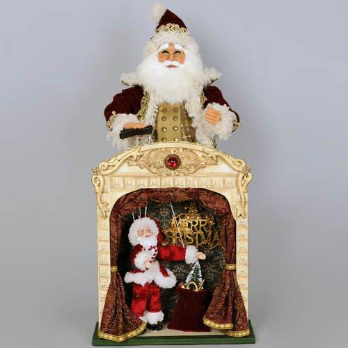 Vintage Marionette Santa