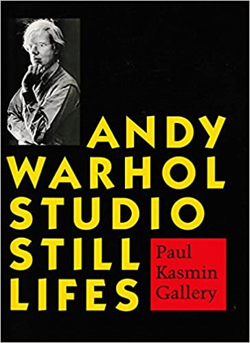 andy warhol studio still lifes by warhol andy 1998 paperback