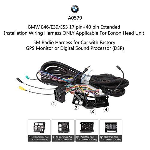 Bmw 5//x5//3 Serie e39//e53//e46 40 Pin Masterplug