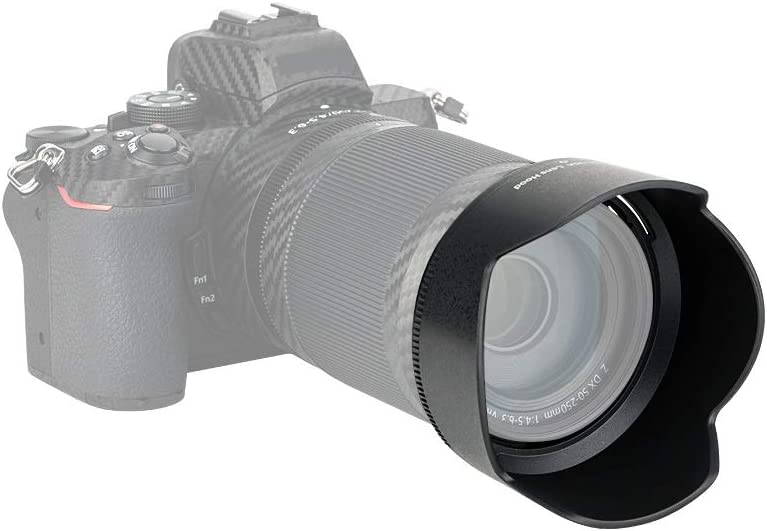 JJC LH-90A Gegenlichtblende f/ür Nikon NIKKOR Z DX 50-250mm f//4.5-6.3 VR Objektiv ersetzt Nikon HB-90A