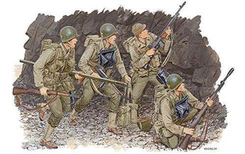 プラッツ 1/35 第二次世界大戦 アメリカ軍 レンジャー部隊 ノルマンディ1944 プラモデル DR6021 プラモデル