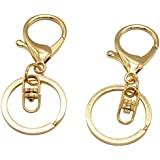 25 Set Gold Lobster Clasp Keychain Lobster Claw Clasps Findings