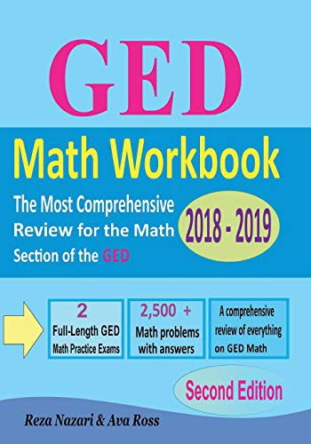 Pdf Teaching GED Math Workbook 2018 - 2019: The Most Comprehensive Review for the Math Section of the GED TEST