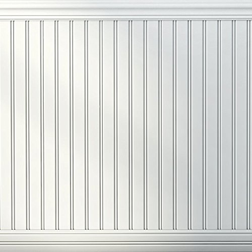 Boulanger 20809-KIT Primed MDF Beaded Wainscot Kit by Boulanger