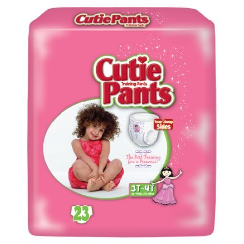 Cuties® Training Pants for Girls - Case/92 )