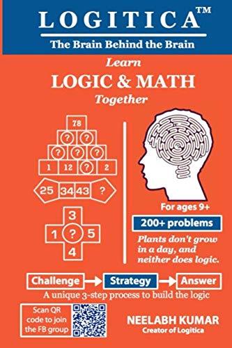 Logitica: Learn Logic and Math Together - Learn Maths Book