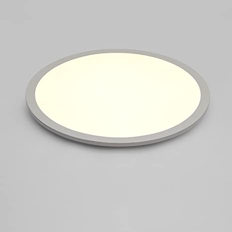 Amazon.com: Ultra-delgado Circular, con luz LED de techo ...