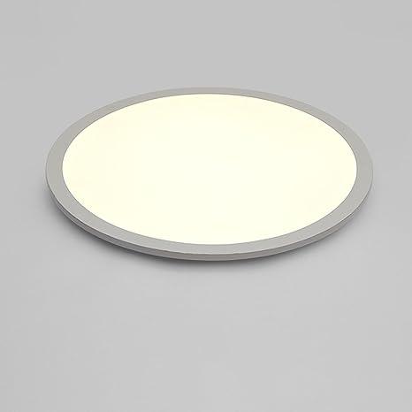Amazon.com: Ultra-delgado Circular, con luz LED de techo ...