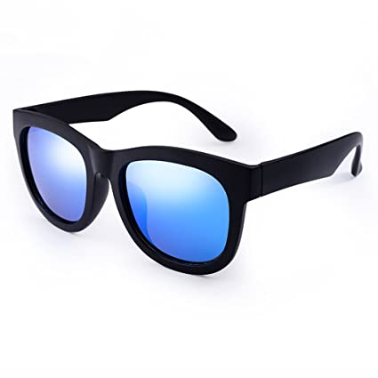 Gafas de Sol Gafas de Sol polarizadas Male Fashion Big Frame Glasses Retro Driving Mirror Female