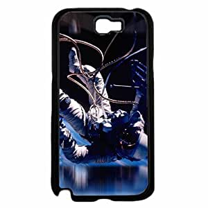 Astronaut In Space - TPU Rubber Silicone Phone Case Back Cover (Samsung Galaxy Note II 2 N7100)