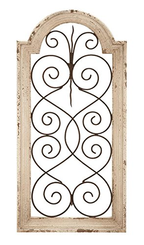 Deco 79 Metal Wd Wall Panel 9 5 Quot By 19 5 Quot Rustic Home