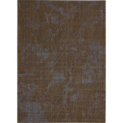- Nourison Urban Brown Bark/Cobal Rug, 9.6-Feet by 13-Feet