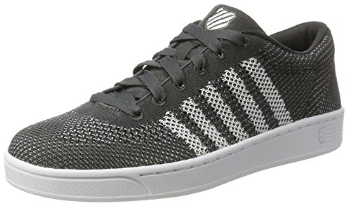 Erwachsene Sneakers Addison Shadow Unisex K White Pique Grau Swiss dark Z8fnfqXEw