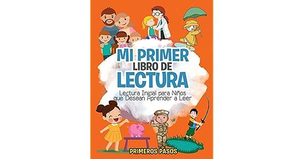 Amazon.com: Mi Primer Libro de Lectura: Lectura Inicial para ...