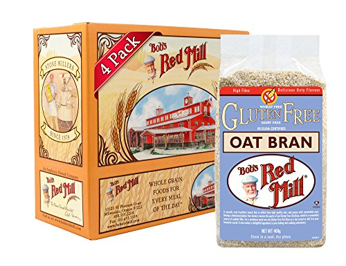 Bob's Red Mill Gluten Free Oat Bran, 18 Ounce (Pack of 4) by Bob's Red Mill
