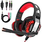 Beexcellent Gaming Headset for PS4 PC Xbox One,...