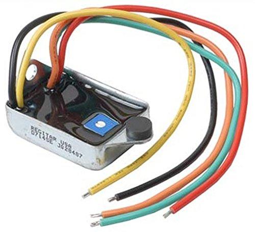 Conversion 12 Volt Voltage Regulator Make Your Alternator A One 1-Wire - Wire Alternator One Up Hook
