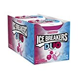 Cheap ICE BREAKERS Duo Sugar Free Mints, Raspberry, 1.3 Ounce (Pack of 8)