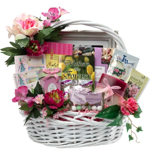 Art of Appreciation Gift Baskets Mothers Are Forever Tea and Treats Food Gift Baskets, Large - Gifts, Flowers & Food