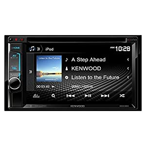 "Kenwood DDX393 6.2"" Double DIN Multimedia Receiver With Bluetooth"