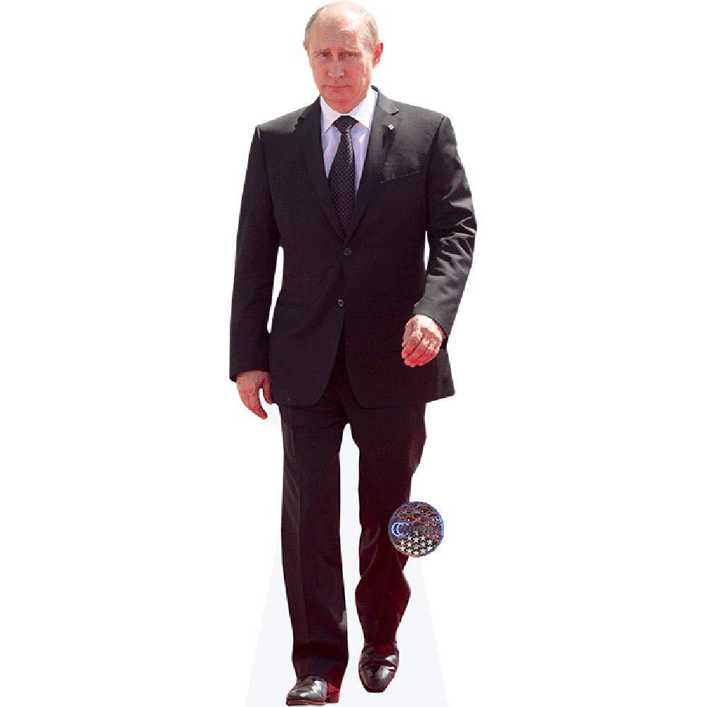 Suit Celebrity Cutouts Vladimir Putin Pappaufsteller lebensgross