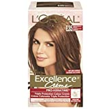 L'Oreal Paris Excellence Creme Haircolor, Light Chestnut Brown [E35] 1 ea (Pack of 4)