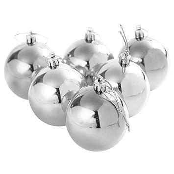 Bruchsichere Christbaumkugeln.Tingtin 6pcs Weihnachtskugeln Ornamente Weihnachtsdekoration