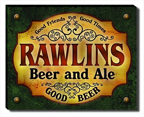 ZuWEE Rawlins Family Beer and Ale Gallery Wrapped Canvas Print