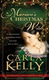 Marian's Christmas Wish by Carla Kelly front cover