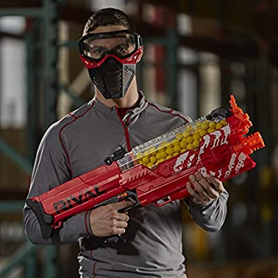 Nerf Rival Nemesis MXVII-10K, Red ( Exclusive), Standard Packaging: Nerf: Toys & Games