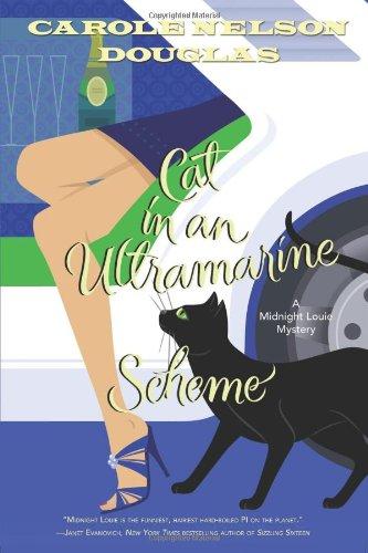 Cat in an Ultramarine Scheme: A Midnight Louie Mystery (Midnight Louie Mysteries)