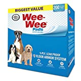 Wee-Wee Pads, 200 Count Review