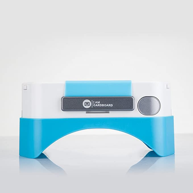 I AM Cardboard DSCVR - Auriculares de Diadema, Color Azul: Amazon ...
