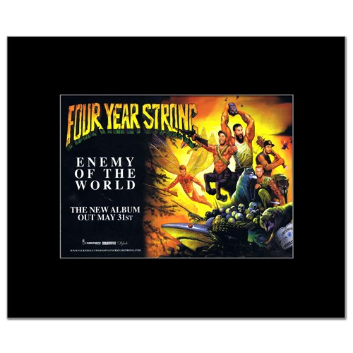 Four Year Strong - Enemy of The World Mini Poster - 21x13.5cm