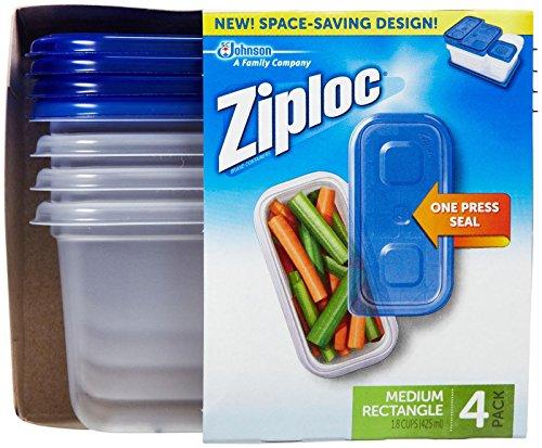 Ziploc Container Medium Rectangle count product image