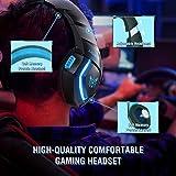 ONIKUMA Gaming Headphones PS4 Headset Gaming