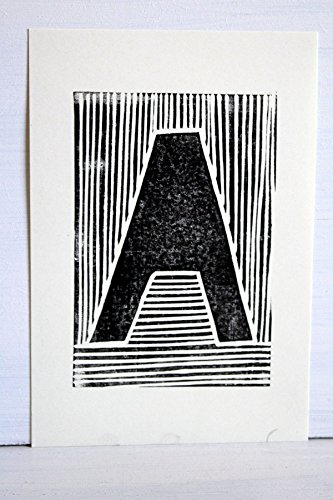 EKone Original Lino Print - A