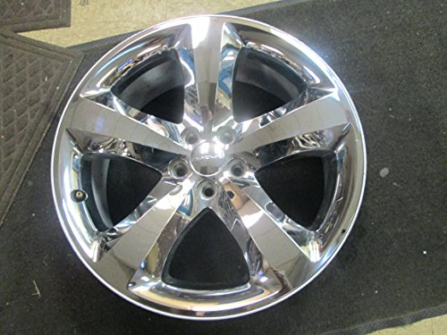 20 INCH 11-14 DODGE CHALLENGER CHARGER OEM CHROME CLAD WHEEL RIM 2424 2411 (20 Inch Chrome Rims And Tires For Sale)