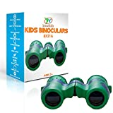 Binoculars for Kids by Tyto Sports – 8×21 Compact Binoculars include Cleaning Cloth, Neck Strap, and Carrying Case – Great Childrens Field Glasses for Bird Watching, Hunting, and Hiking – HD Optics